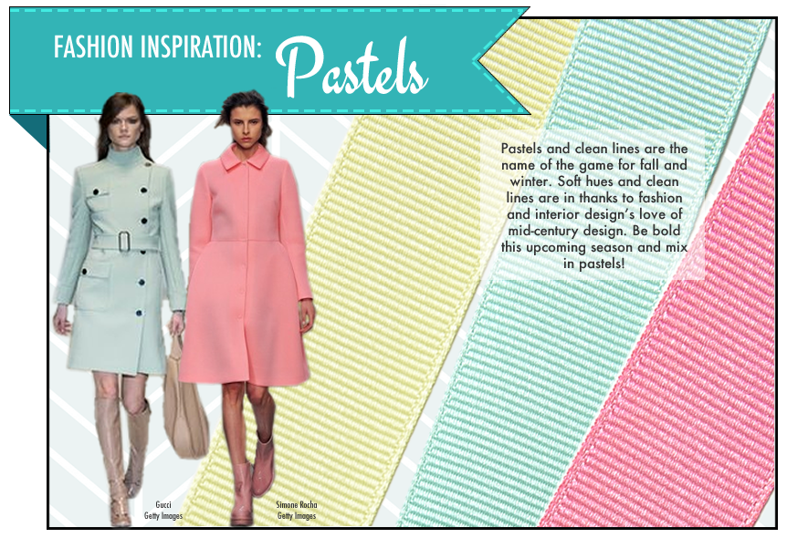 May Arts Ribbon Pastels Fashion Trend