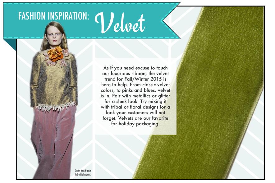 May Arts Ribbon Velvet Fashion Trend2