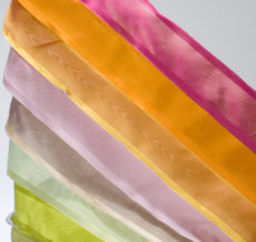 "QP 1.5"" x 20y MOIRE/IRIDESCENT/WIRED Ribbon"