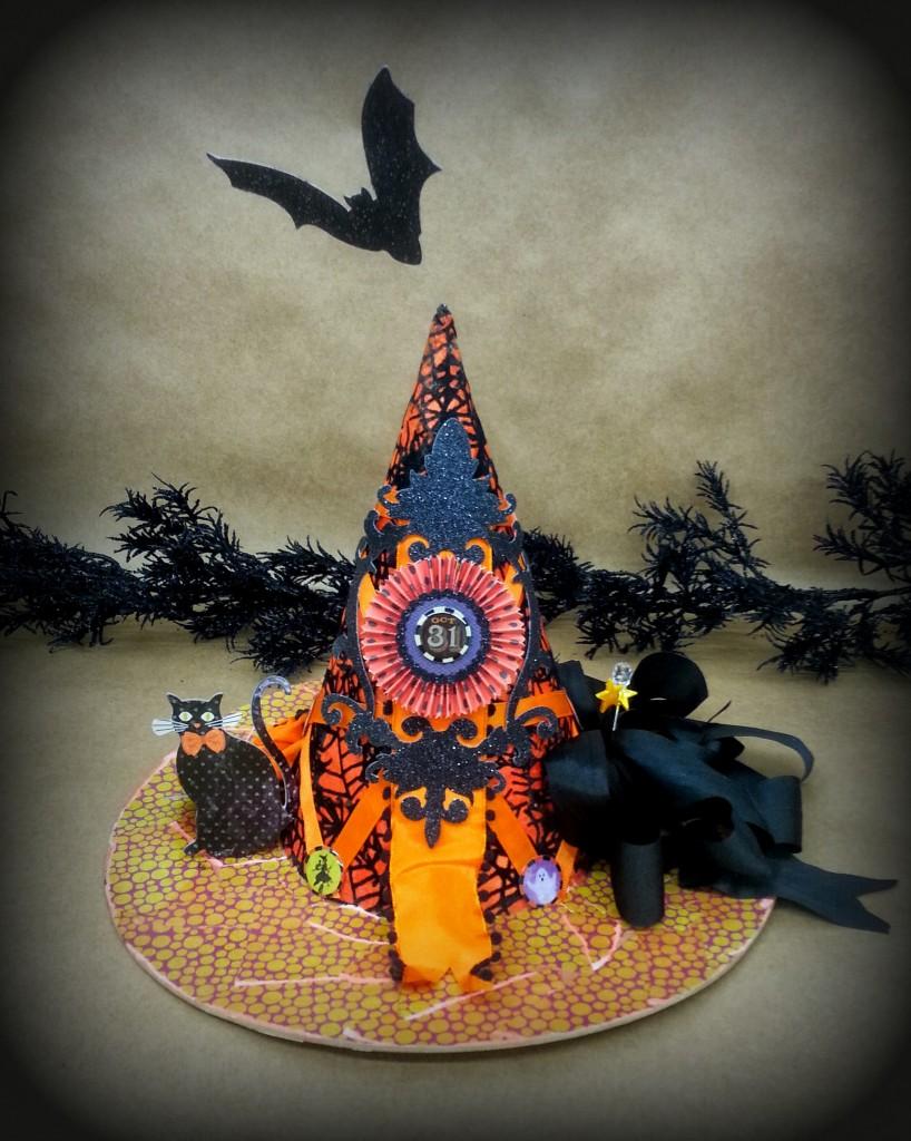 Paper Mache Witch Hat