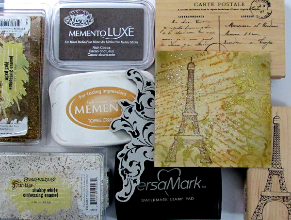 Stamping & Embossing on Ribbon