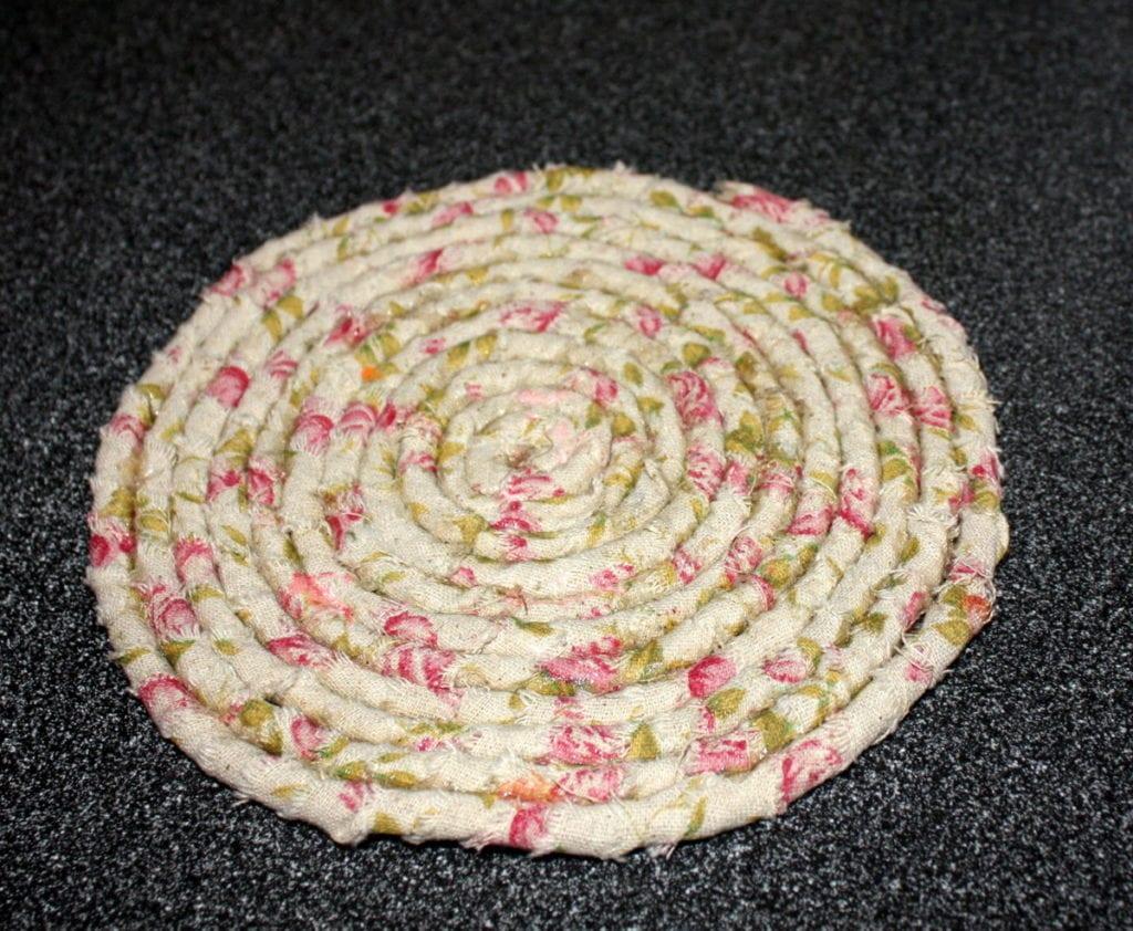 Easy No Sew Ribbon Coasters