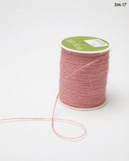 dusty pink burlap string jute cord