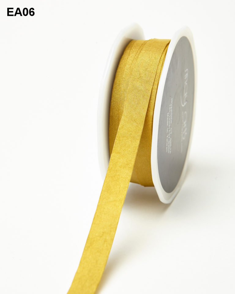 Moss Solid Wrinkle Ribbon