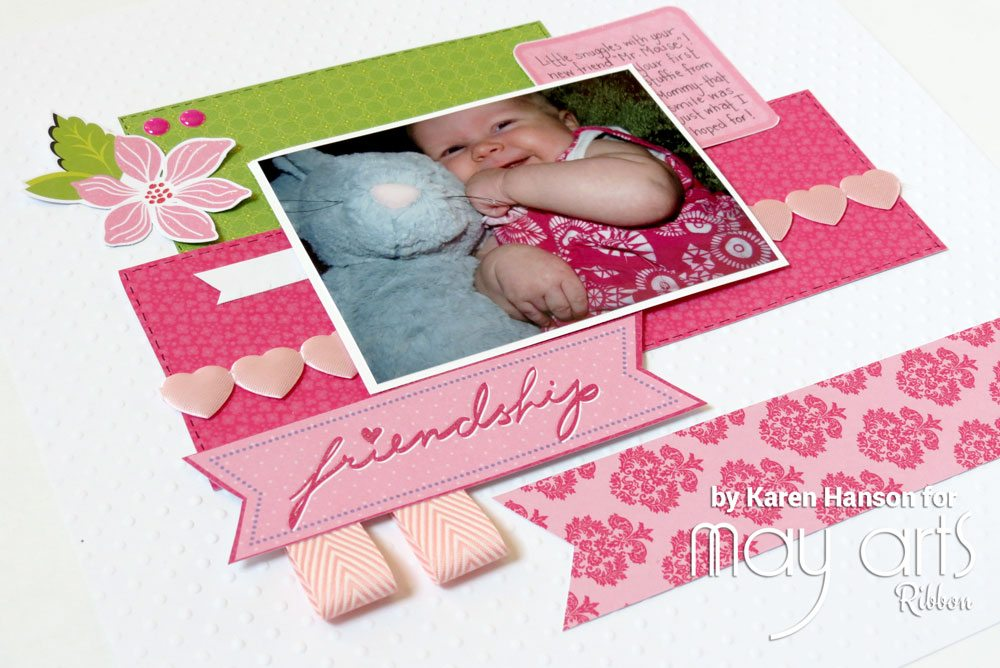 Scrapbooking Hearts: Not Just For Valentine's Day