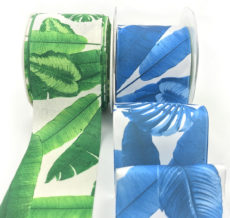 torpical leaf banana leaf Hawaiian palm ribbons