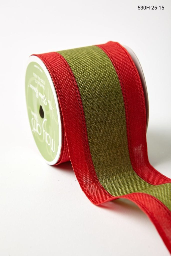 "2.5"" 530H-25-15 RED/GREEN CENTER BAND"