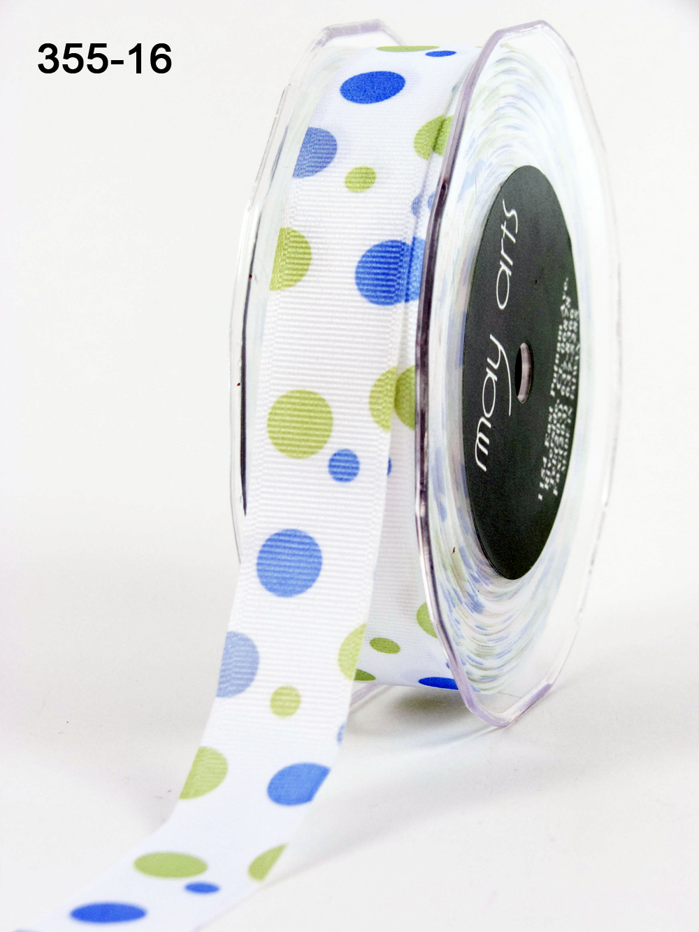 Variation #0 of 7/8 Inch Grosgrain / Bubble Dots Ribbon 1