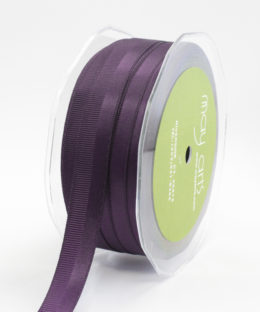 Variation #154486 of 5/8 Inch Satin / Grosgrain Double Band Ribbon