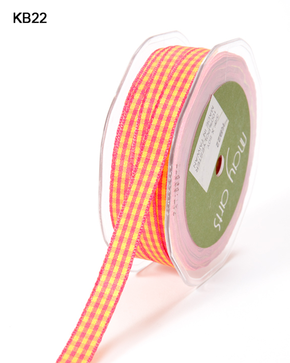 Variation #151026 of 3/8 Inch Solid Checkered Ribbon 1
