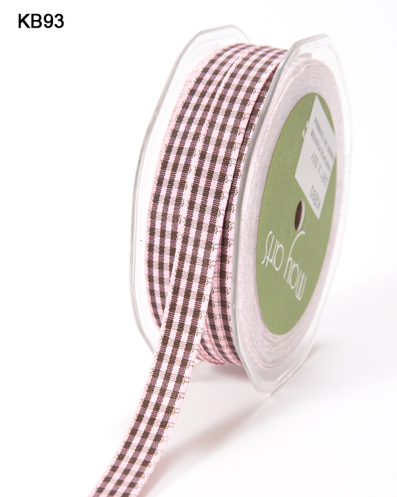 Variation #151043 of 3/8 Inch Solid Checkered Ribbon