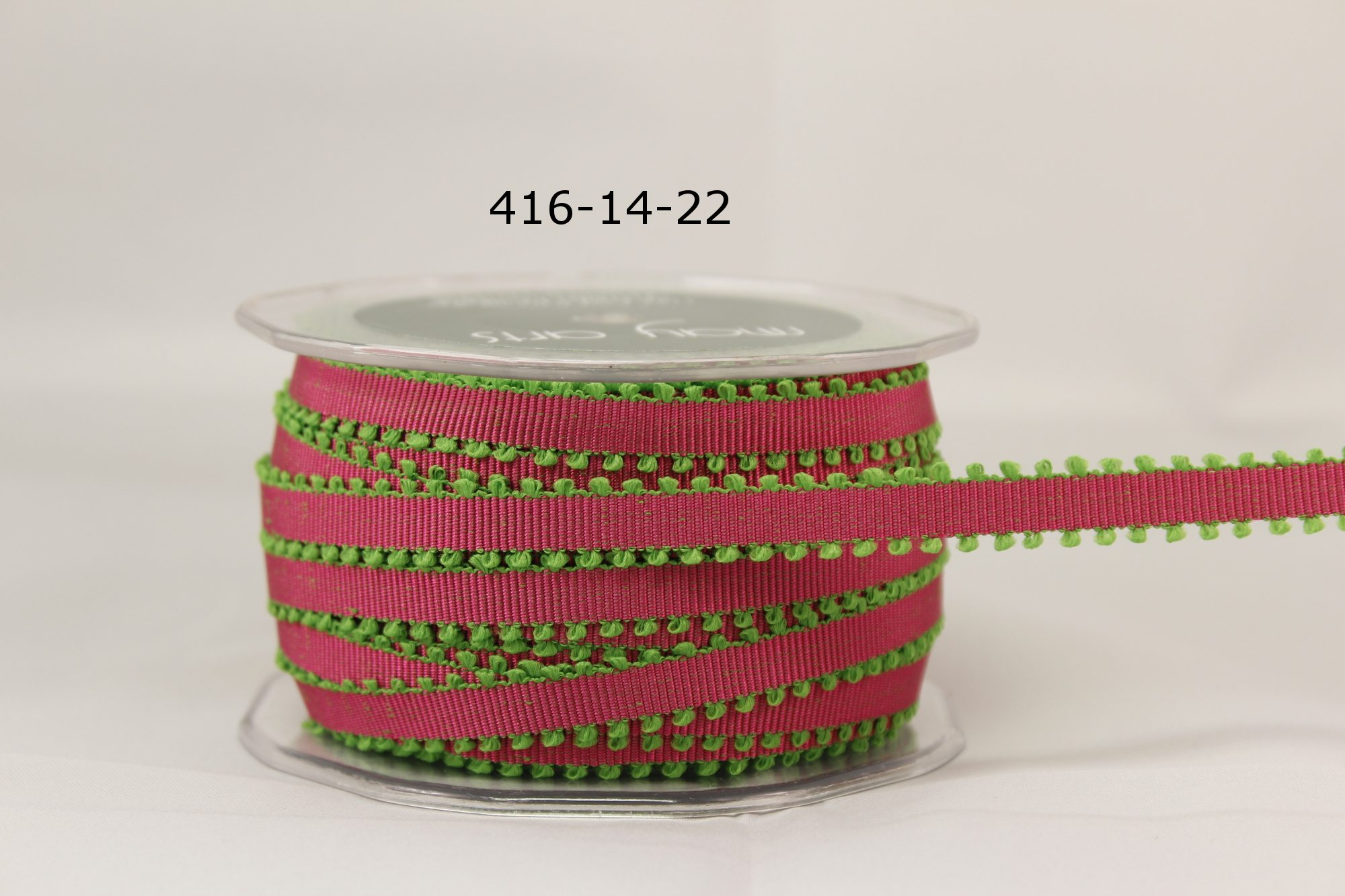 Variation #154931 of 1/4 Inch Grosgrain Ribbon w/ Picot Edge 1