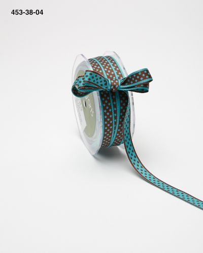 Variation #155348 of 3/8 Inch Reversible Dots Ribbon 1