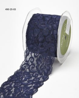Variation #0 of 2.5 Inch Elastic Lace Ribbon