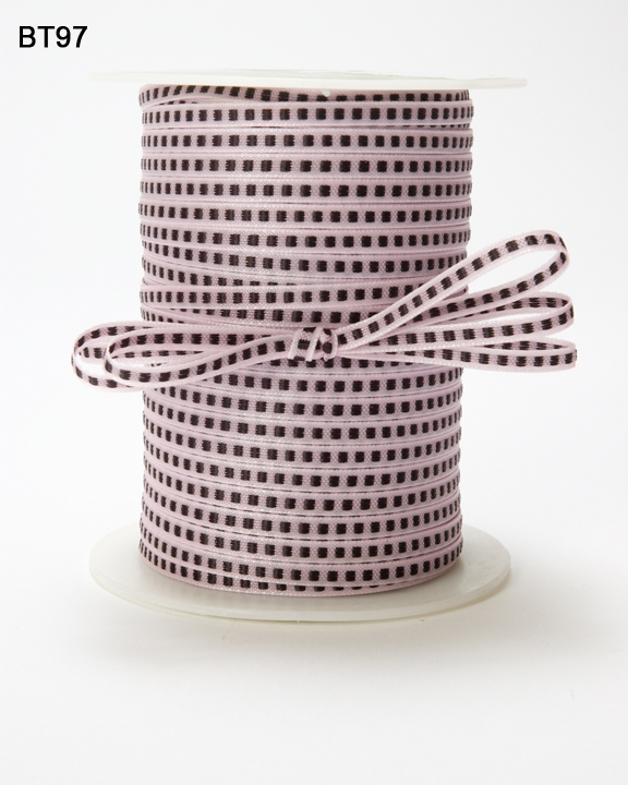 Variation #148769 of 1/8 Inch Solid Stitched Center Ribbon 1