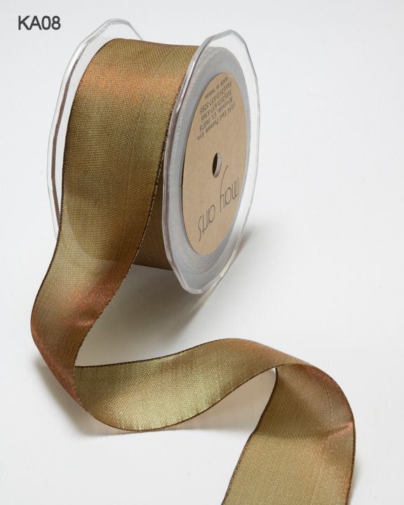 Variation #150918 of 1/4 Inch Woven Iridescent Ribbon 1
