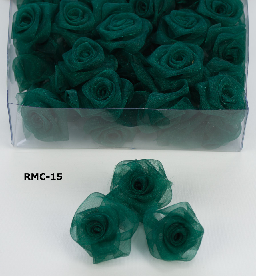 Variation #0 of 100/BOX – 1″ SHEER ROSES Ribbon 1
