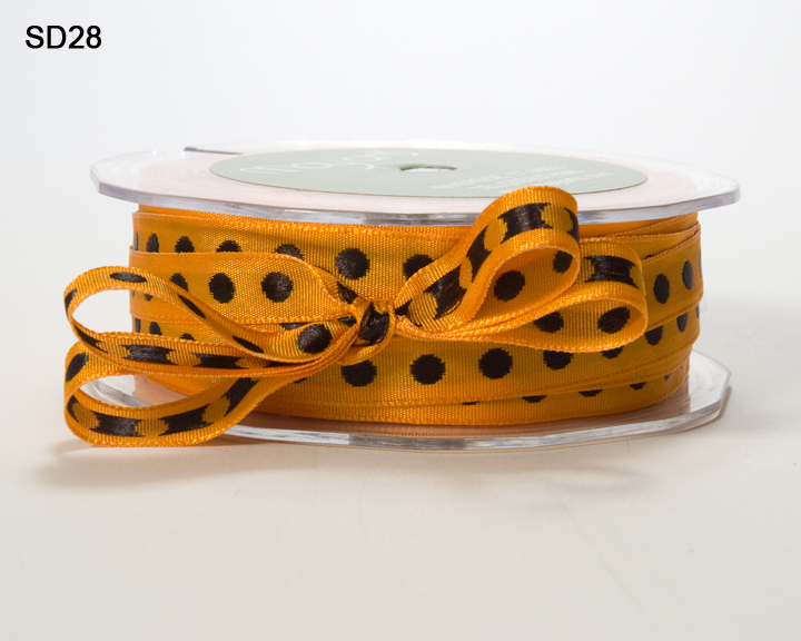 Variation #152587 of 3/8 Inch Solid Center Dot Ribbon 1