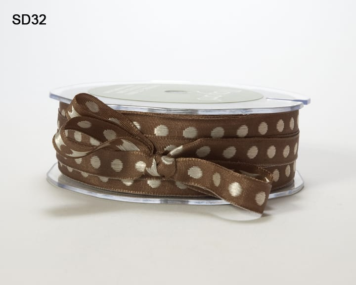 Variation #152588 of 3/8 Inch Solid Center Dot Ribbon 1
