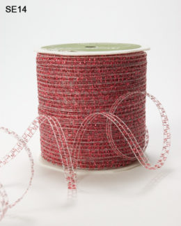Red Curly Sparkling Ribbon