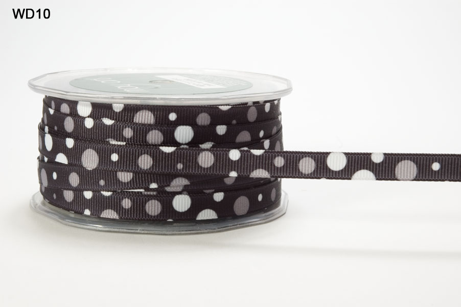 Variation #153279 of 3/8 Inch Grosgrain Bubble Dot Ribbon 1