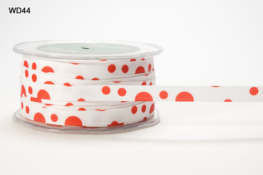 Variation #153284 of 3/8 Inch Grosgrain Bubble Dot Ribbon 1